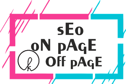 SEO On Page & Off Page