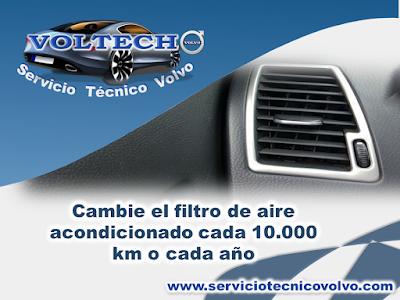 Mantenimiento Aire Acondicionado Volvo