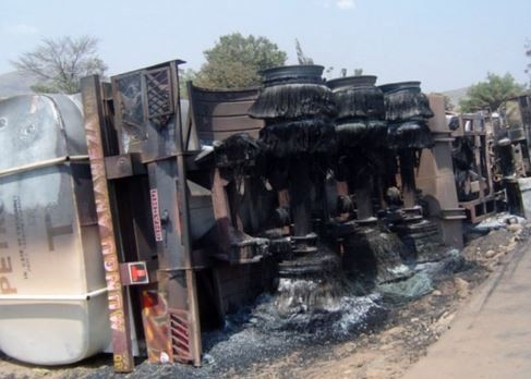 Fuel tanker explosion kills 50 people in Congo