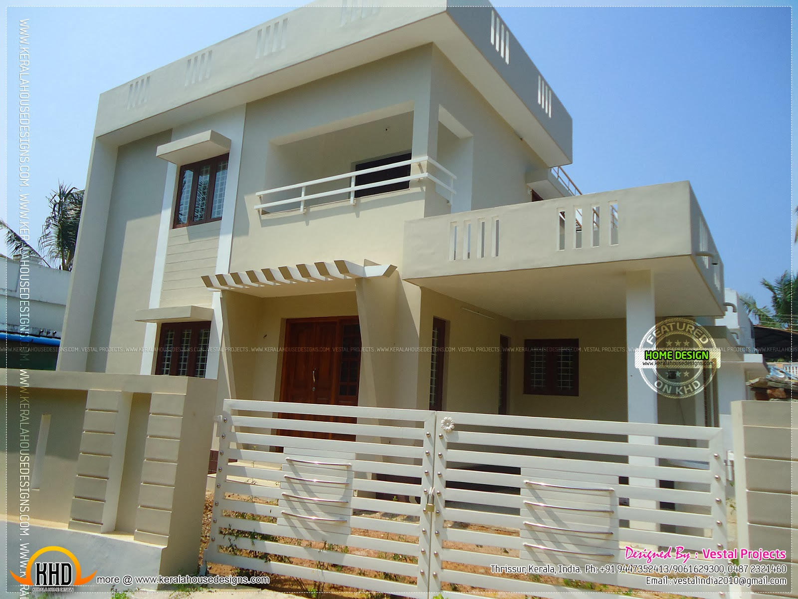 1450 square feet house with cents of land kerala