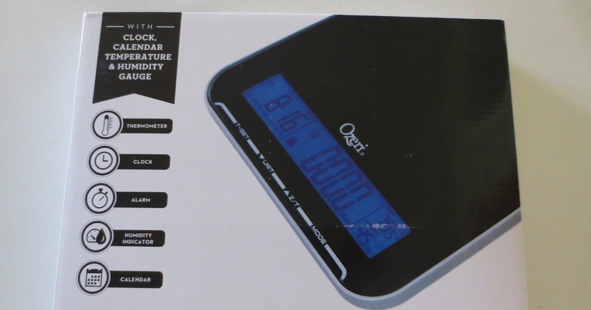 Gloria 39 s bits and pieces ozeri zk20 touch iii for Ipad kitchen scale