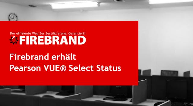 Firebrand erreicht den Pearson VUE® Select Status