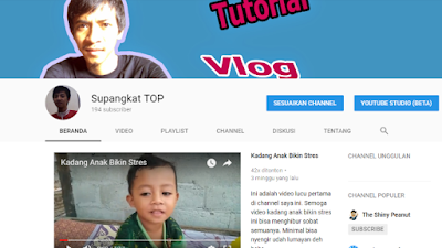 subscribe channel komedi saya