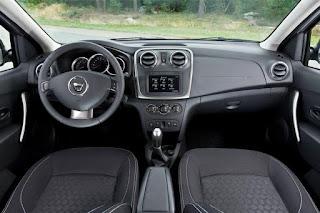 Interior del Dacia Sandero Stepway