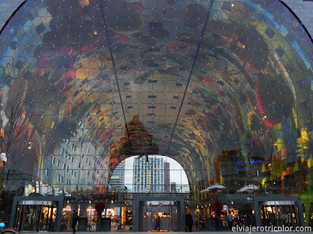 Mercado Markthal de Rotterdam