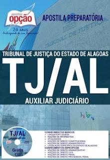 Apostila concurso Tribunal de Justiça do AL - TJ Alagoas 2017
