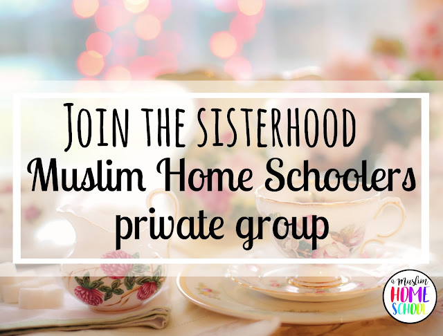 Muslim Home Schoolers women's group