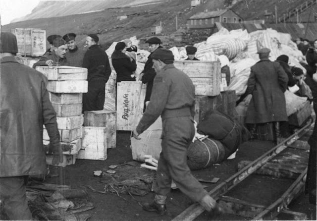 Allied troops on Spitzbergen, 19 August 1941 worldwartwo.filminspector.com