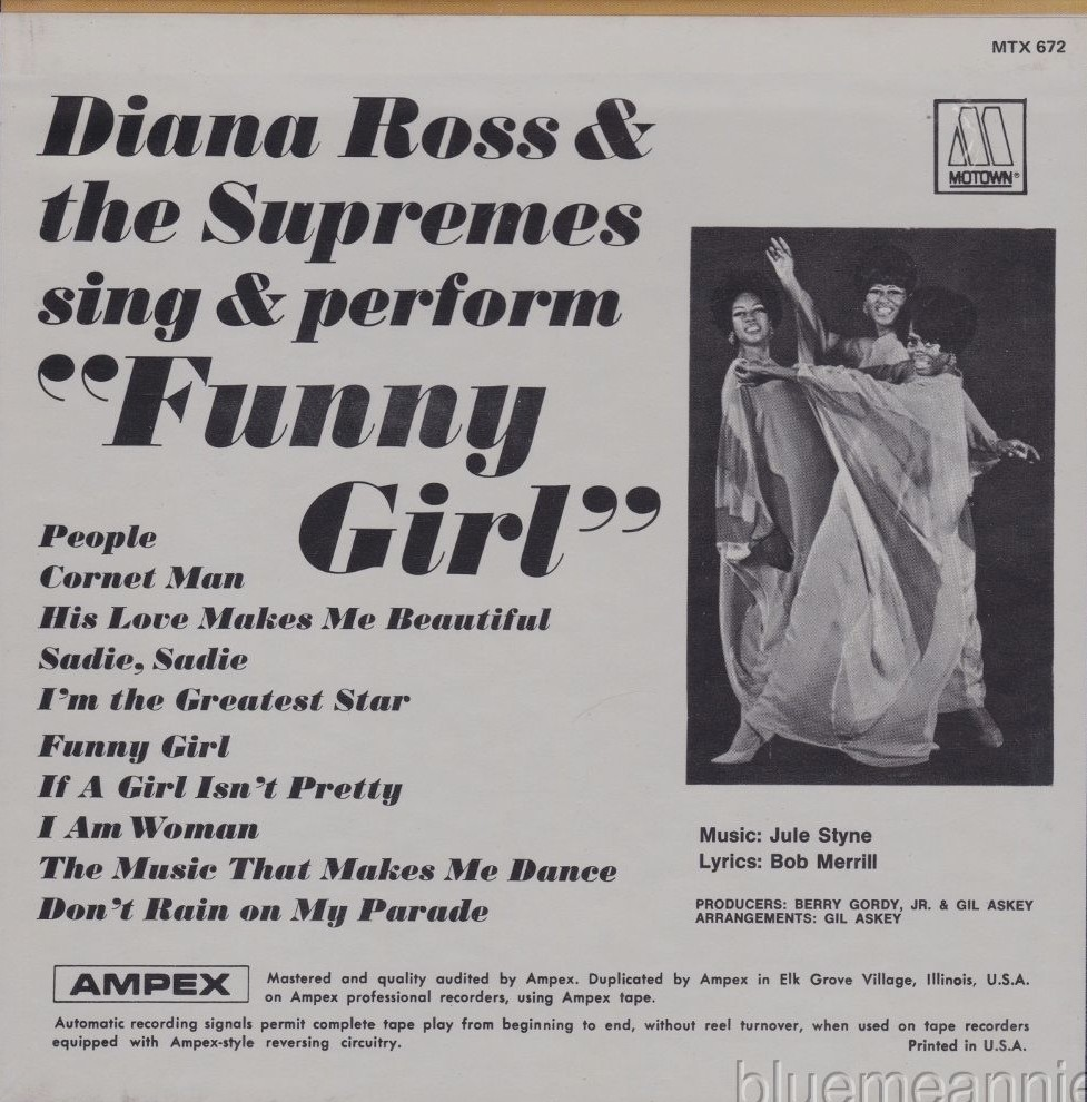Diana Ross & The Supremes Sing and Perform Funny Girl