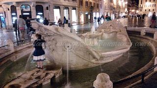 turismo roma praca espanha - Praças e Fontes de Roma