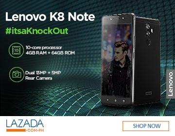 Lenovo K8 Note Sale