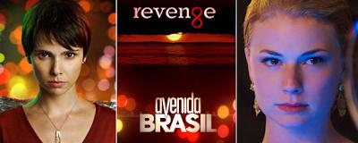 Avenida Brasil, vários sites citaram as semelhanças entre o folhetim brasileiro com a série americana Revenge,