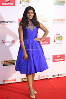 Eesha in Cute Blue Sleevelss Short Frock at Mirchi Music Awards South 2017 ~  Exclusive Celebrities Galleries 004.JPG