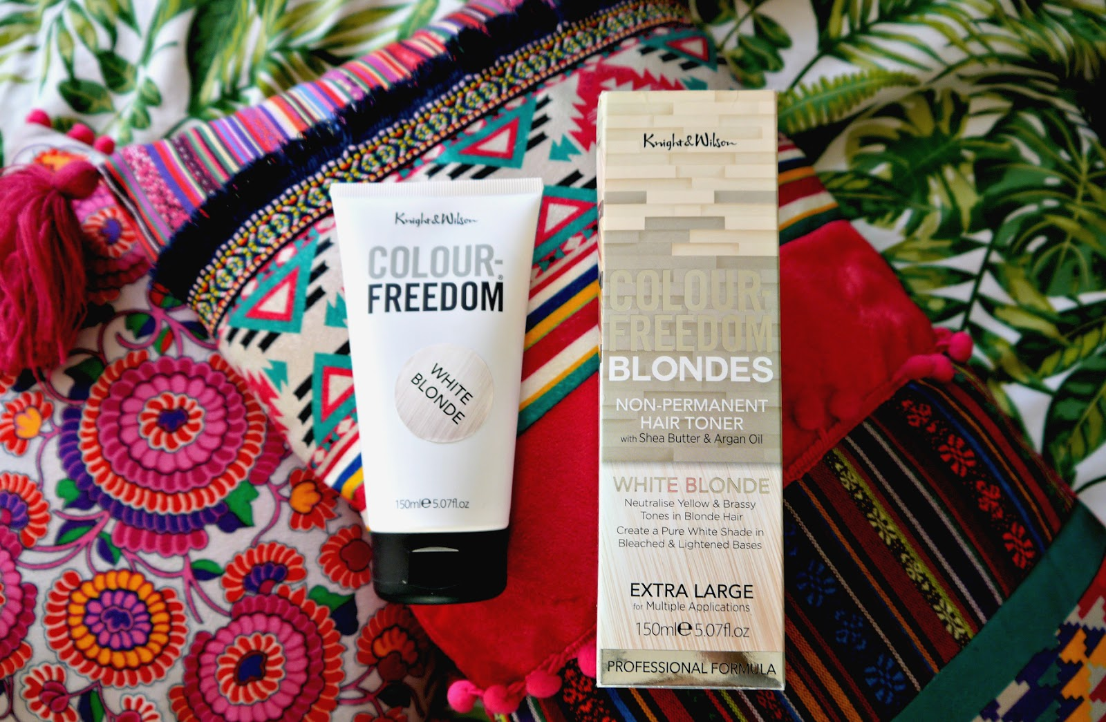 Knight And Wilson White Blonde Toner