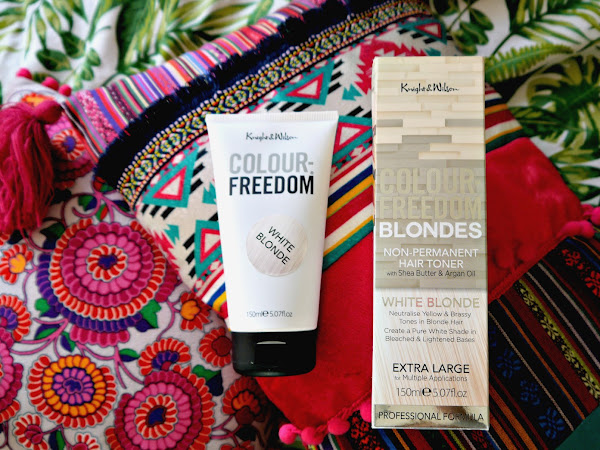 How to use Knight And Wilson Colour Freedom Toner in 'White Blonde'