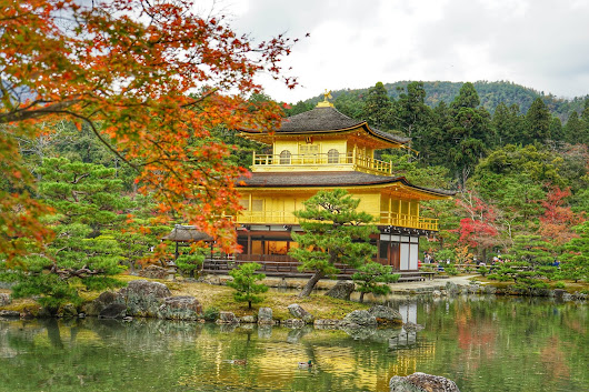 Travel Photos Series#19-Kinkaku-ji Temple at Autumn