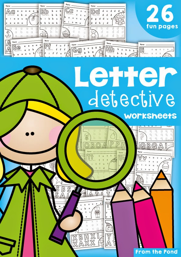 find a letter letter detective by robinson tpt two for tuesday from the pond 335