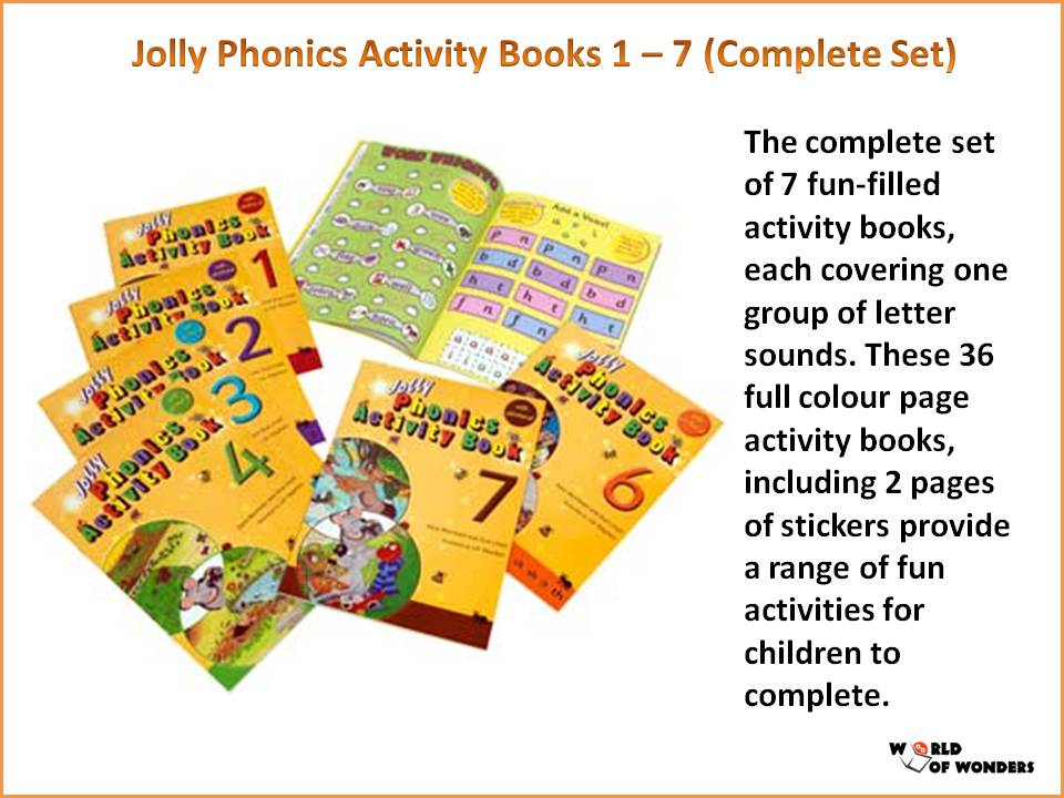 Jolly Phonics Activity Book 1