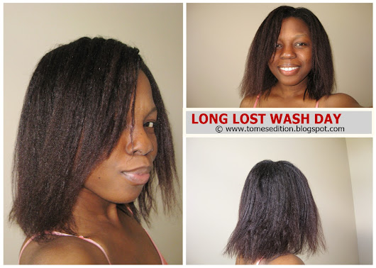 Long Lost Wash Day…