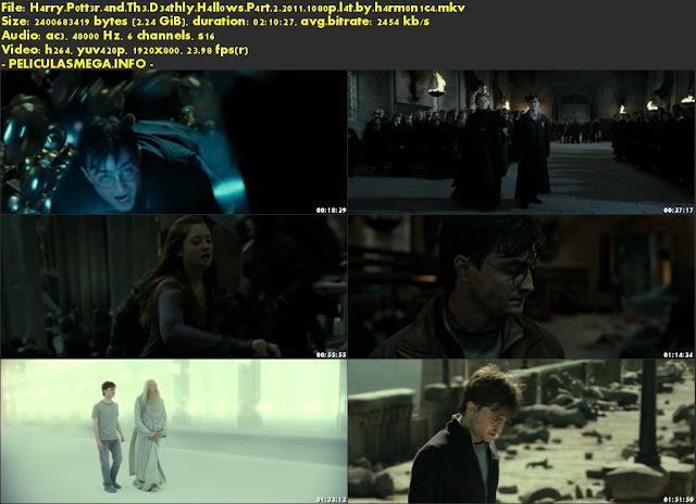 Descargar Harry Potter y las Reliquias de la Muerte – Parte 2 Latino por MEGA.
