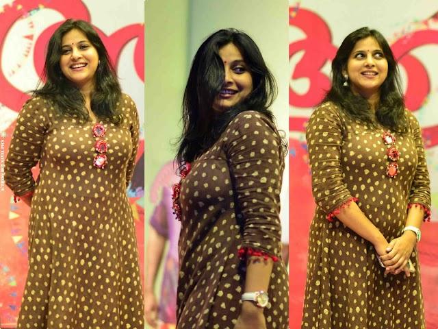 Anna Reshma Rajan Hot in Tight Dress