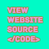 How to view website source code