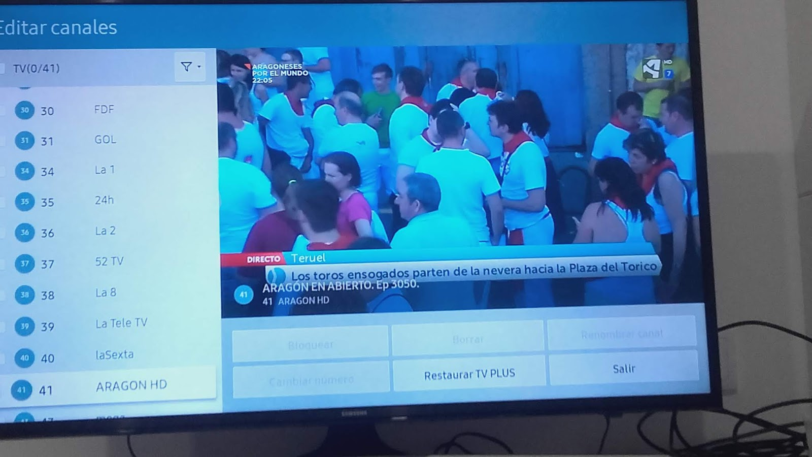 Coaching Y Ciberoptimismo Cómo Ordenar Los Canales En Tu Tv Samsung Ue40 Mu 6105 K