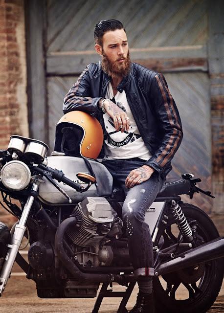 Những kiểu tóc cá tính và bụi bặm cho các tay Biker