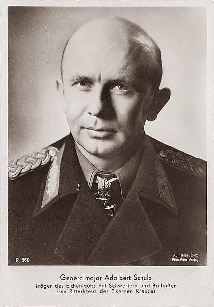 Adelbert Schulz Ritterkreuzträger Knight Cross Holder Postcard
