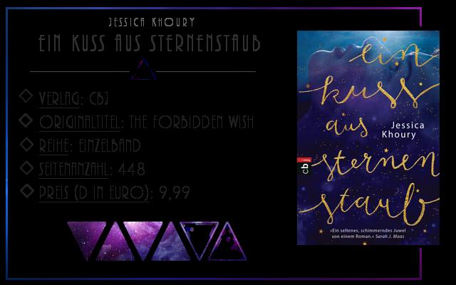[Rezension] Ein kuss aus Sternenstaub - Jessica Khoury