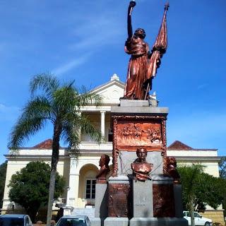 Prefeitura e Praça da Bandeira, Santa Cruz do Sul