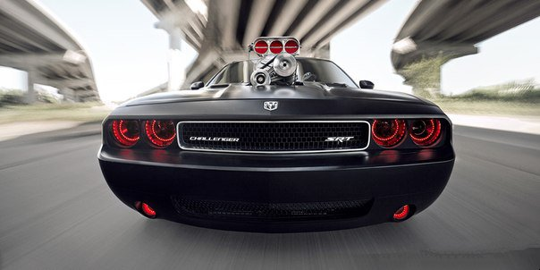 The Dodge Challenger SRT8 2