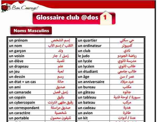 أقوى مراجعة لغة فرنسية أولى ثانوي ترم أول مواصفات 2019 مسيو أحمد الصغير