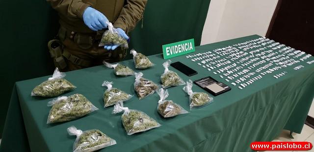 🚨Carabineros incauta marihuana y cocaína en aduana sanitaria