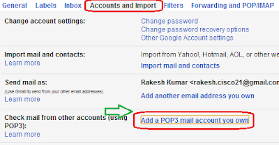 Forward Emails from Old Gmail account to New Gmail account