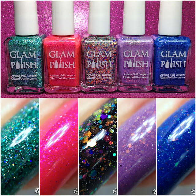 Glam Polish-Technicolor World Collection