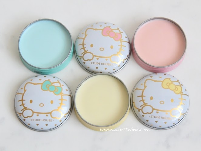 Etude House Hello Kitty solid perfumes