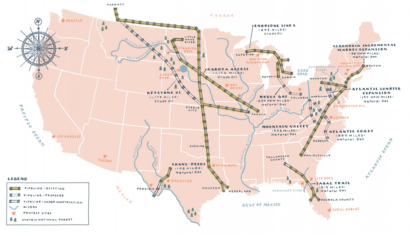 Us Pipeline Map Joltframework North America Pipelines Map Crude - Pipelines in the us map