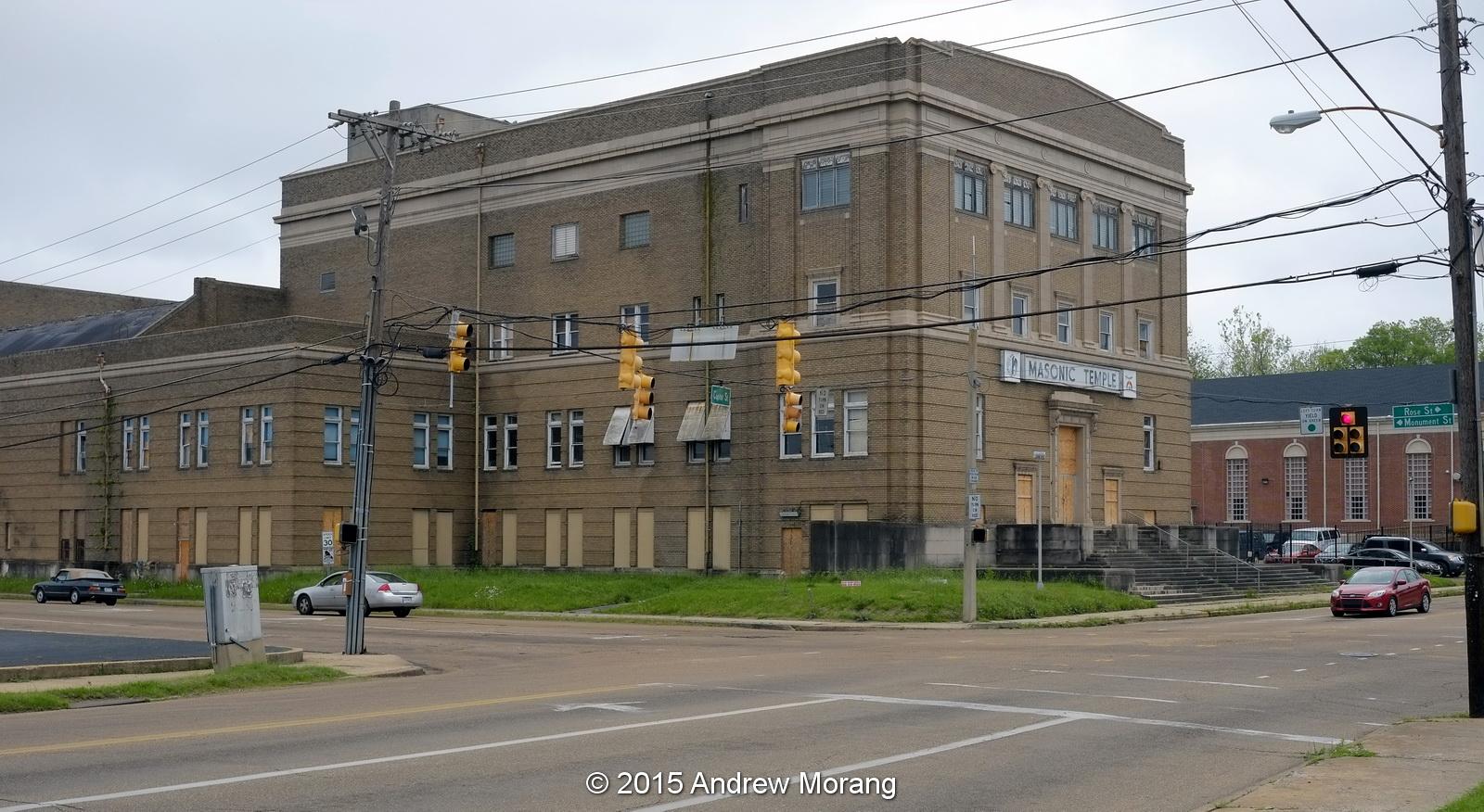 Urban Decay: Abandoned Masonic Temple, West Capitol Street