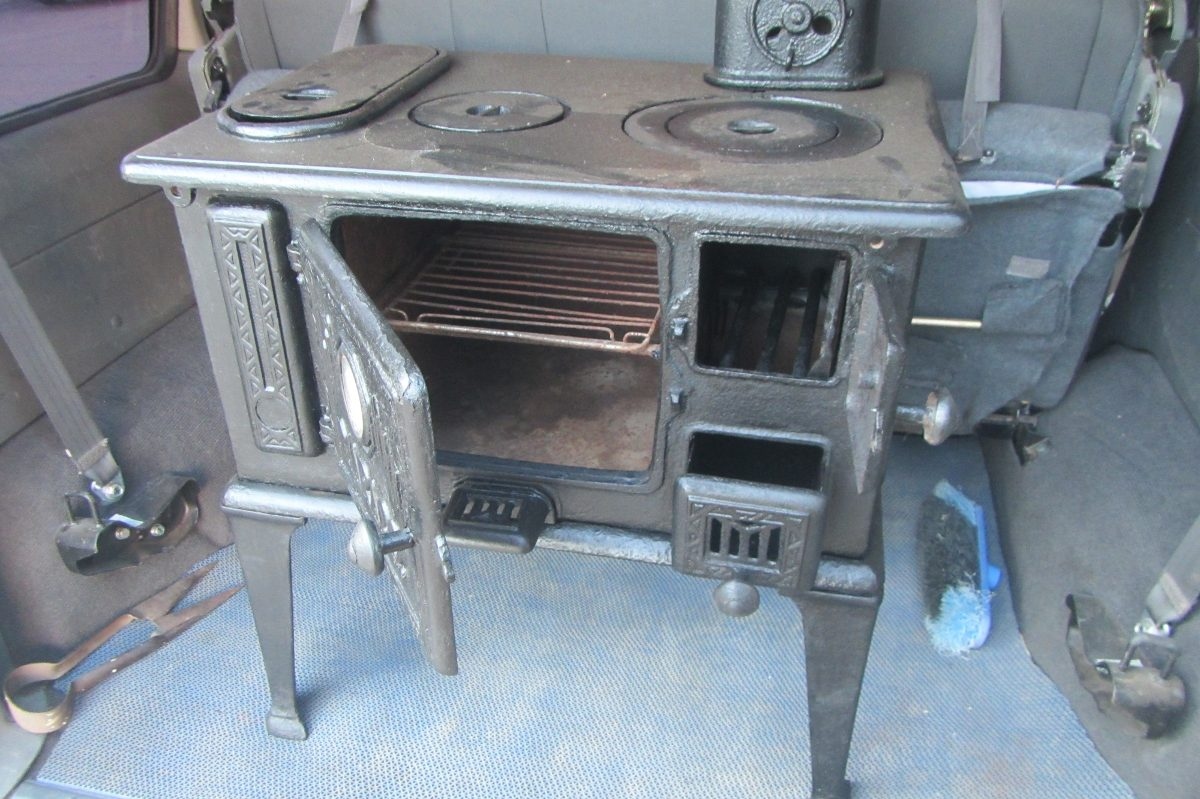Vintage alasdecristal cocinas a le a vintage for Cocina a lena de fundicion