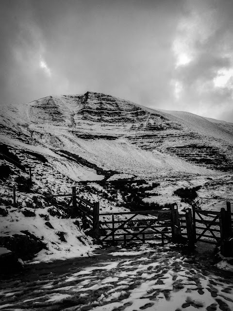 Peak District In Black & White