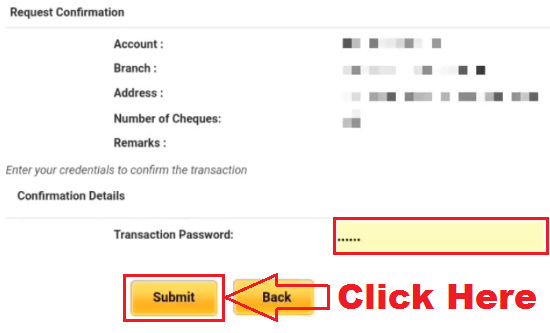 how to apply for cheque book in punjab national bank online