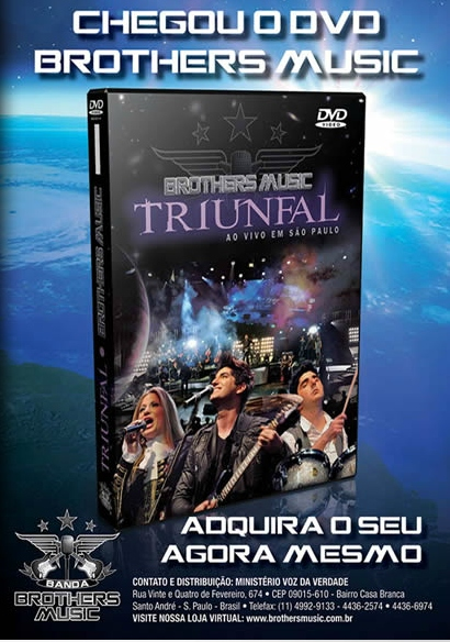 dvd brothers music triunfal