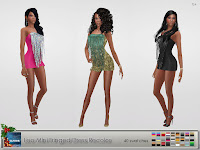 Leo Mini Fringed Dress Recolor - New Year edition