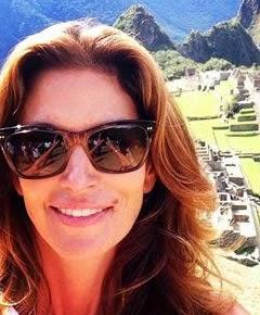 Cindy Crawford Visit Machu Picchu