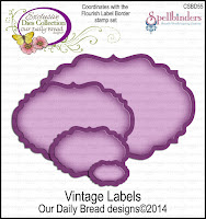 Our Daily Bread designs Custom Vintage Labels Dies