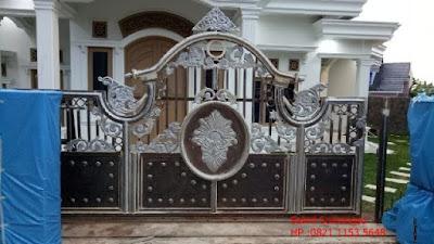 pagar rumah besi tempa adalah pagar klasik