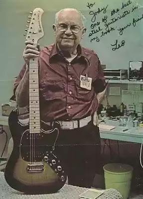 Cha đẻ cây guitar điện Fender huyền thoại … không biết chơi guitar