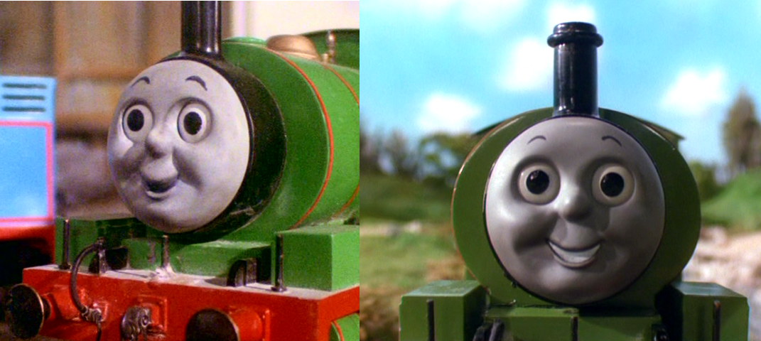 Percy The Train Face
