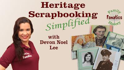 Genealogy Heritage Scrapbooking Webinar Thumbnail